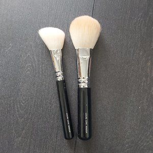Set of Two Zoeva Makeup Brushes